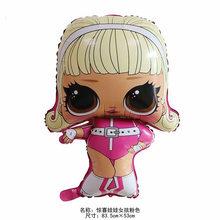 Аниме LOL куклы с сюрпризом 18 дюймов фигурные Воздушные шары игрушки для вечеринки, комнаты, фольгированные шары, игрушки для девочек, подарк...(Китай)