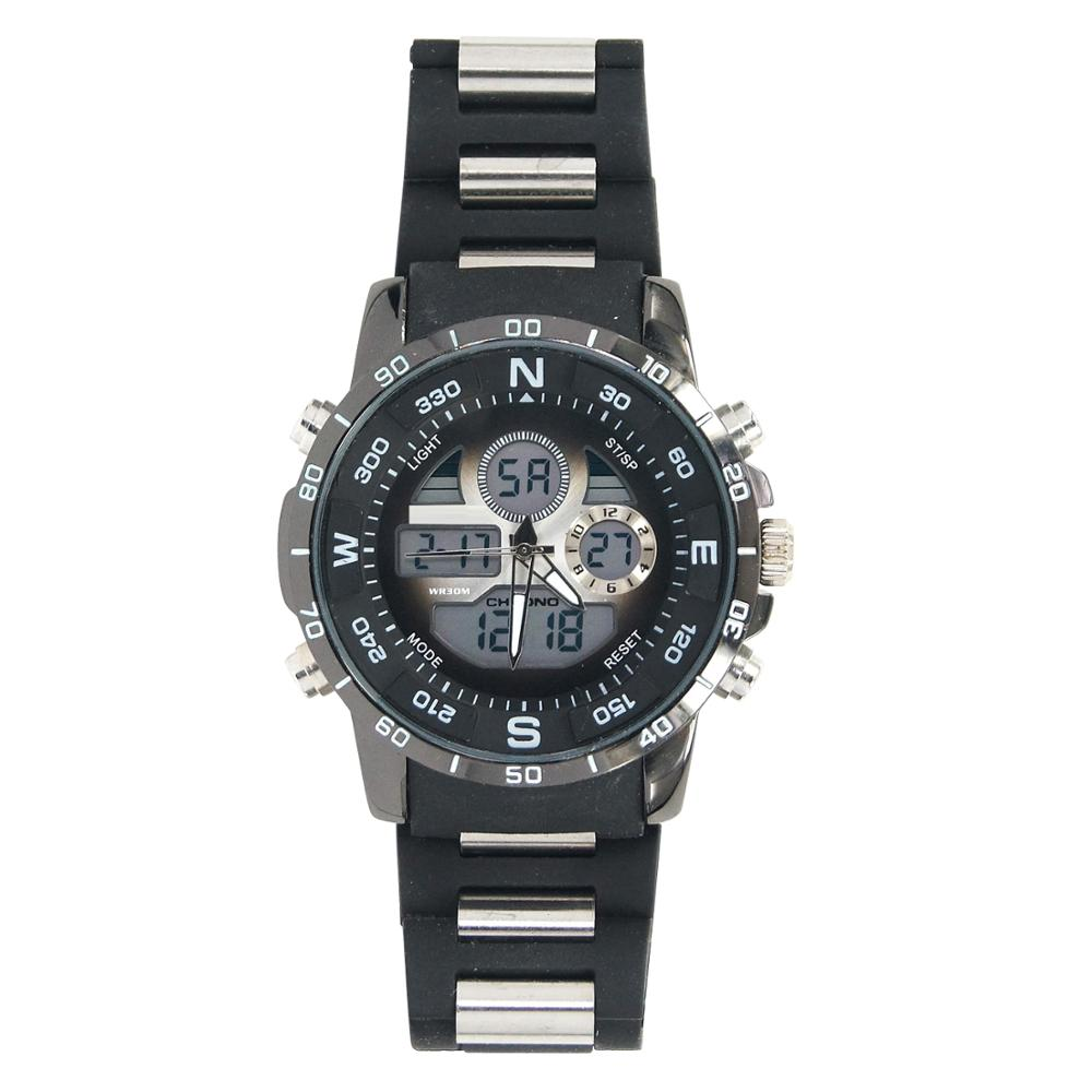 Tailor Made Ana-Digital Alarm El Light Alloy Wristwatches For Parents
