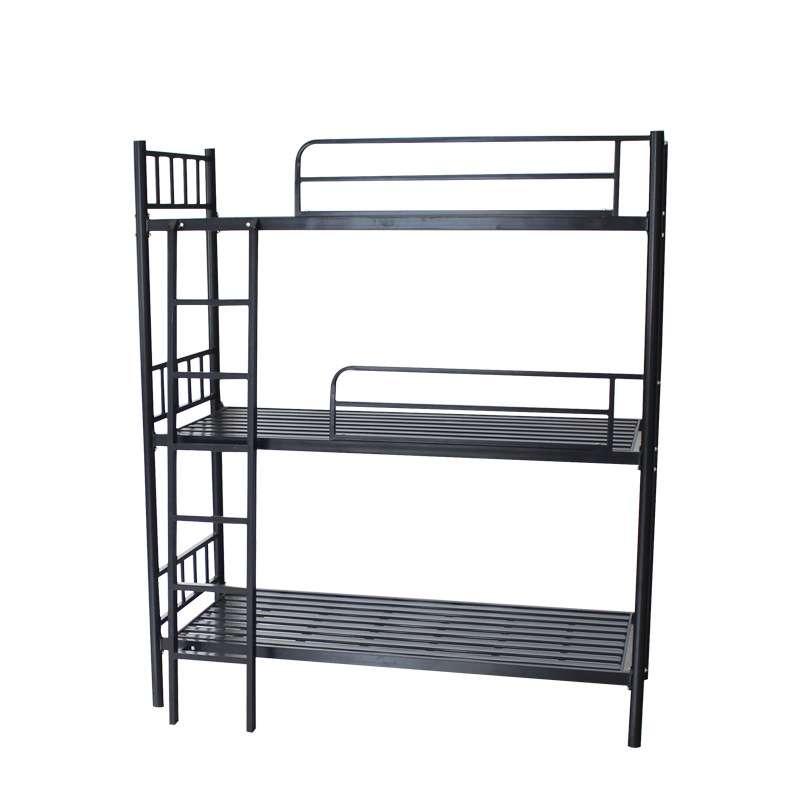 Top Sale Bedroom Metal Furniture Three Tier Bunk Bed Metal Triple Bunk Bed Buy Metal Furniture Bedroom Furniture Bunk Bed Product On Alibaba Com