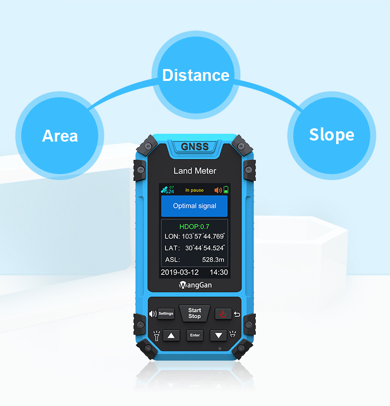 S3  GPS survey equipment Land meter agriculture land measurement Color display Land measuring instruments