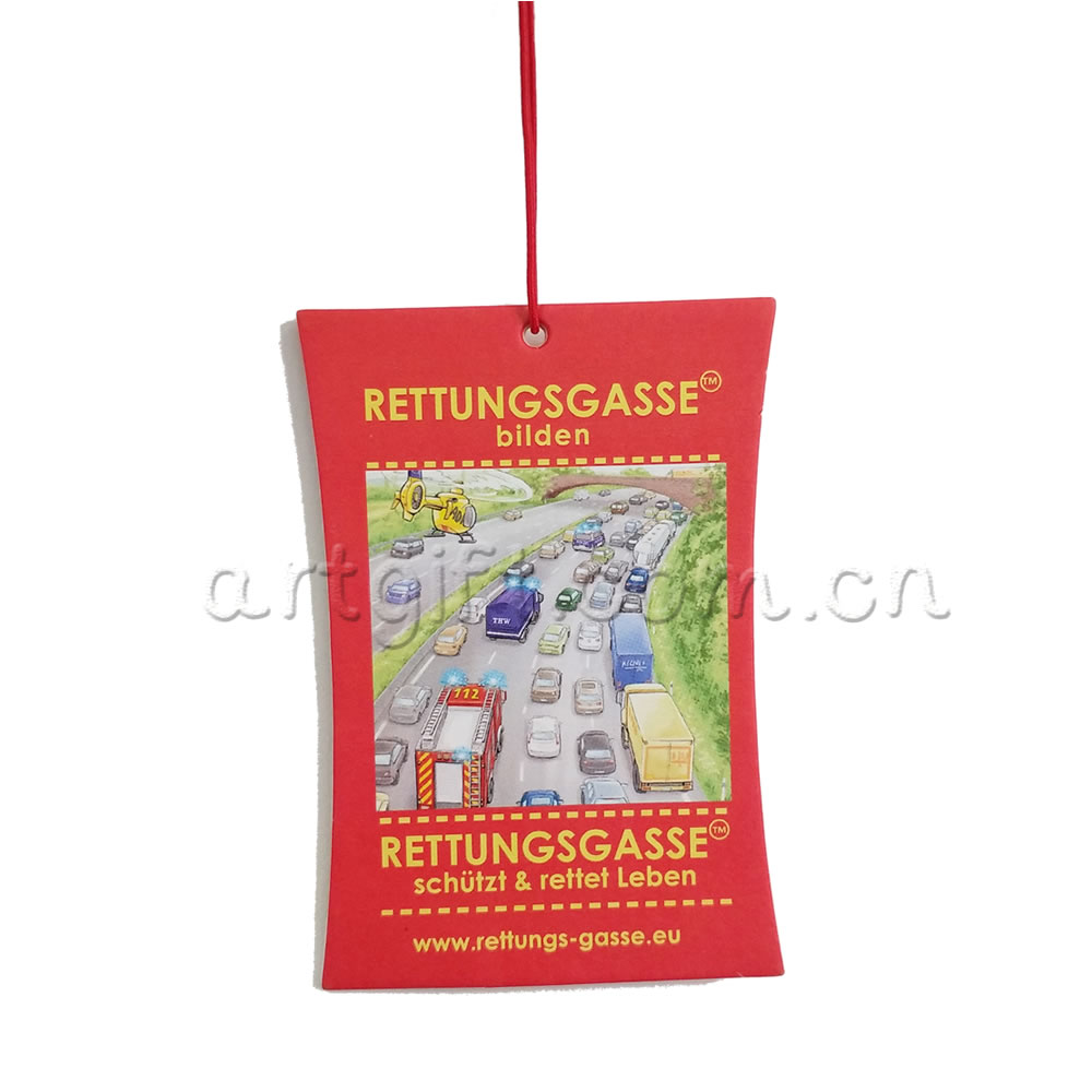 High quality cheap custom all kinds of fragrance/scent hanging paper type car air fresheners