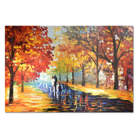 Tree Palette Knife Art Home Decor Shenzhen Painting for Livingroom