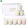 8 semll 8pcs gift box candle sets