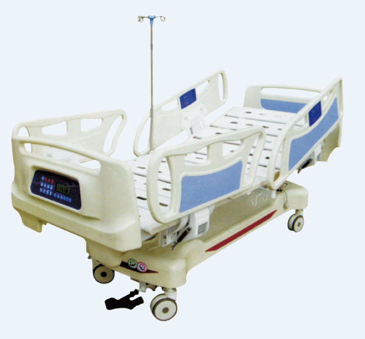 Hospital <strong>Bed</strong> White Steel Sets Furniture Color Material Electric Origin Type Certificate Abs Size