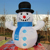 Hot Sale Funny Inflatable Decorations Christmas Santa truck Snowman