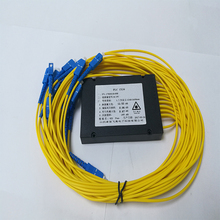 SOFTEL FTTB FTTH SC/PC 커넥터 <span class=keywords><strong>ABS</strong></span> 상자 1x16 <span class=keywords><strong>PLC</strong></span> 분배기
