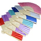 Fans Fan Fan Hand Fan Personalized Custom Printed Portable Chinese Hand Fans Foldable Bamboo Hand Fan