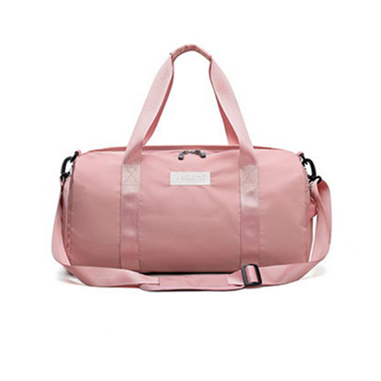 Custom Multifunctional Sports Travel Women Gym Duffle Bag with Shoe Compartment for Tennis Basketball Yoga Outdoor Activities