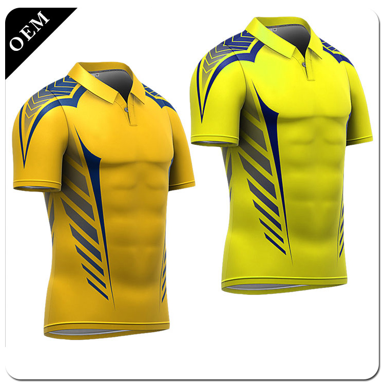 OEM Crazy Selling Custom Cricket Polo Shirt Wholesale customize the clothes for employees