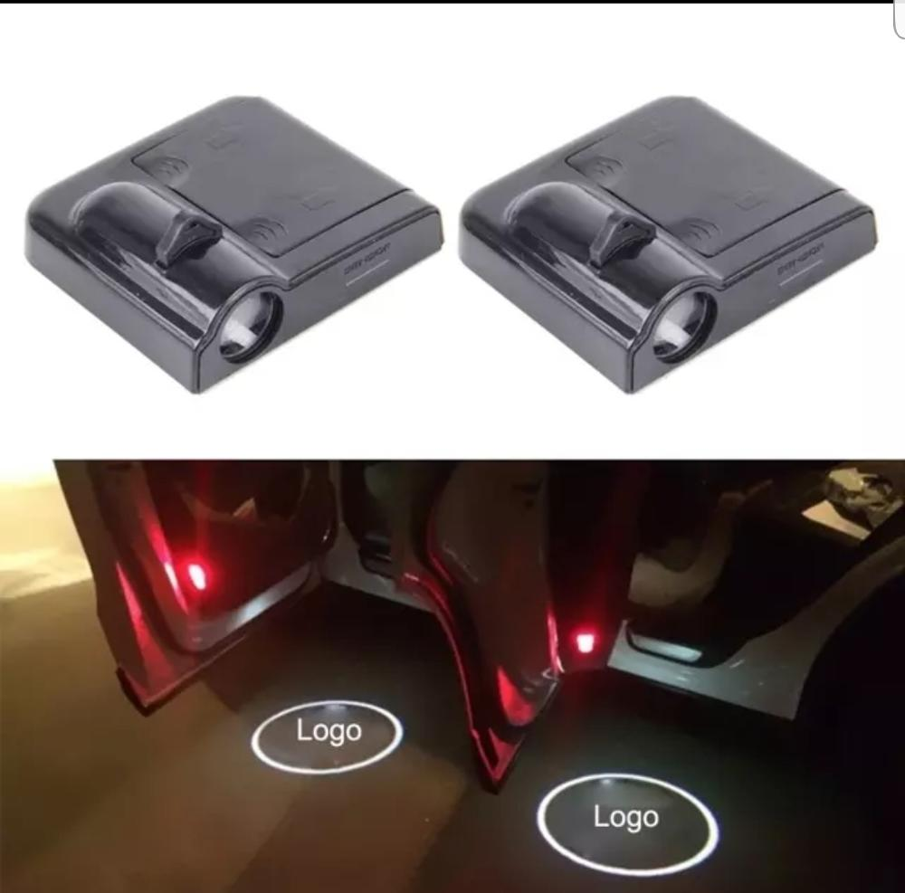 Car Door Led Logo Lights Projector,3D Shadow Ghost Light Welcome Emblem Lamp accesorios para autos