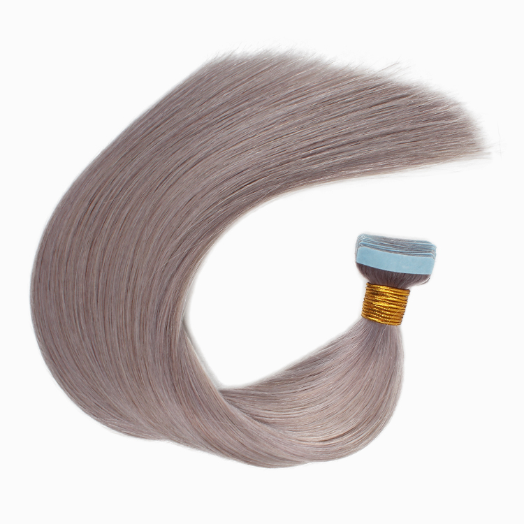 Top quality remy raw russian hair adhesive tape hair extensions virgin hair <strong>human</strong>
