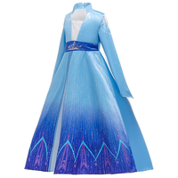 Costume for Kids Children Role Play Clothes Halloween Party Dress Princess Belle's Dress BX1666
