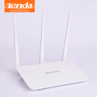 English Package Multi Language tenda router F3 300mbps 2.4GHz Home wireless routers 5dBi External Antenna tenda wifi router