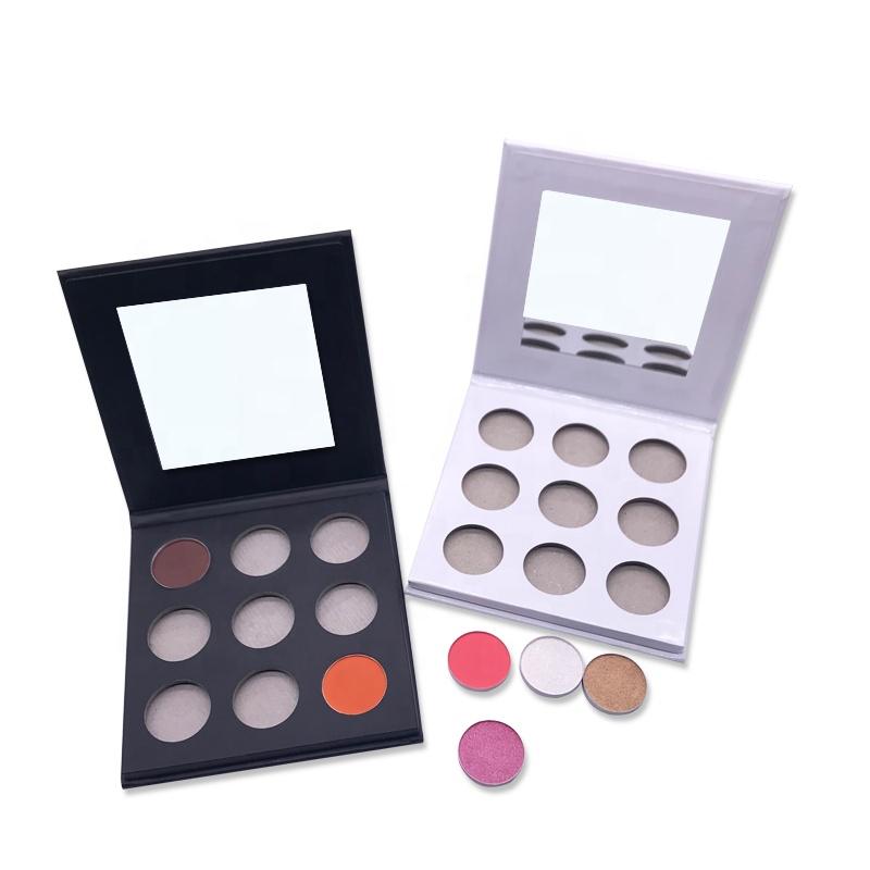 Custom Empty Makeup Cardboard Eyeshadow Palette Wholesale Pick Your Own Colors Eyeshadow Private Label
