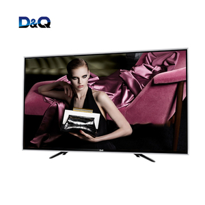 40 inch tempered glass explosion-proof tv flat-panel smart 4K TV without android not curved television