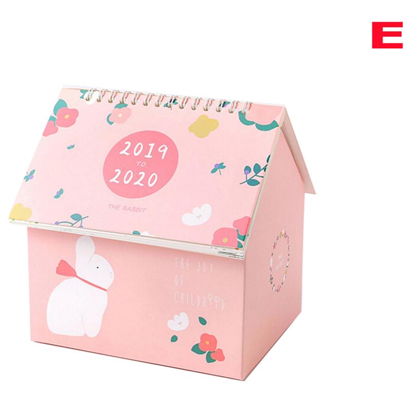 Лидер продаж, 1 шт., коробка для хранения, креативный складной стол для дома, календарь, 2020, Ван Гог, звездная ночь, Мультяшные календари с рису...(Китай)
