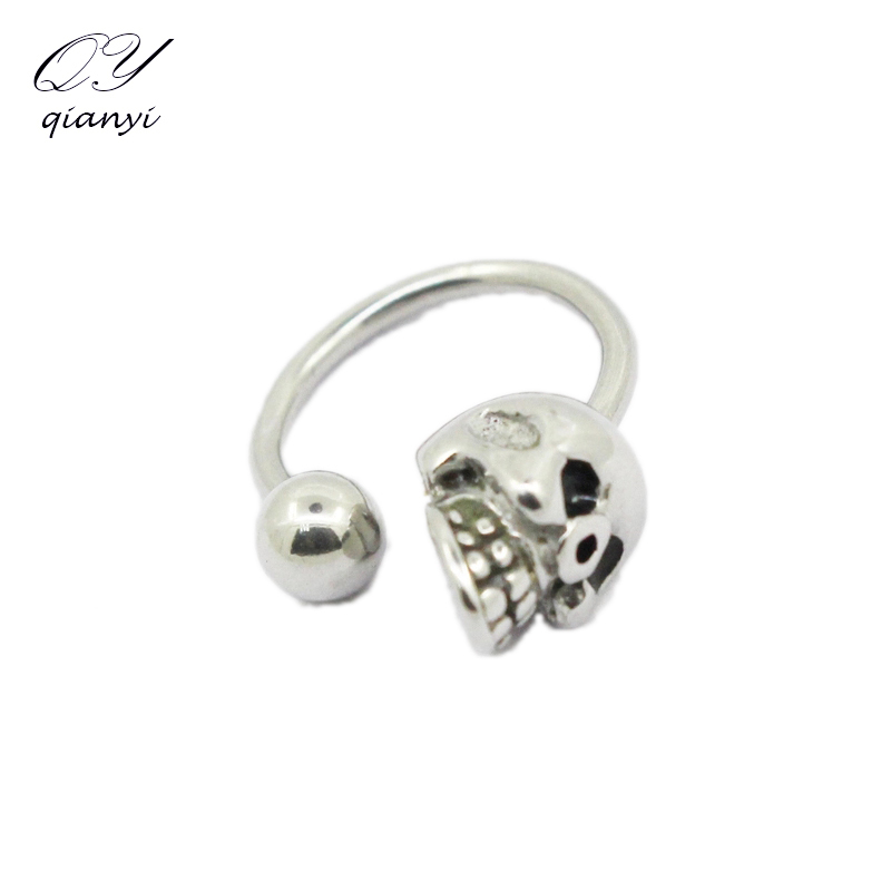 Surgical Skull Nose Rings Non Piercing Nose Ring Jewelry Buy