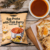 Most Tasty F.EAST Egg Prata with Fish Curry Potato Chips Net WT. 70g  With Yummy Spicy Flavor