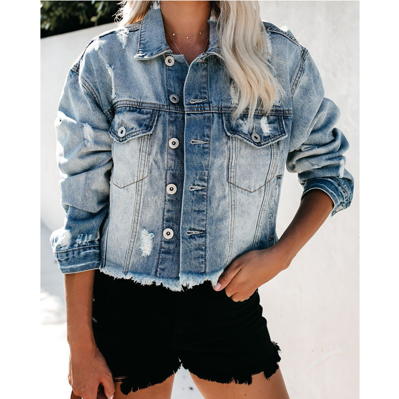 Clothes for women womens vintage fashion jackets 2020 jean jackets women with good goods