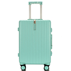 Top Quality Metal Frame Spinner Luggage In 2020
