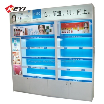 Exquisite Designed  MDF Cosmetic Products Display Shelf