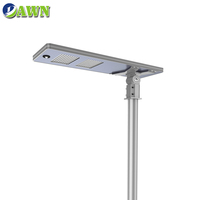 100W 2019 newest latest product super bright integrated all in one solar led street light lamp lampara led de 120 w