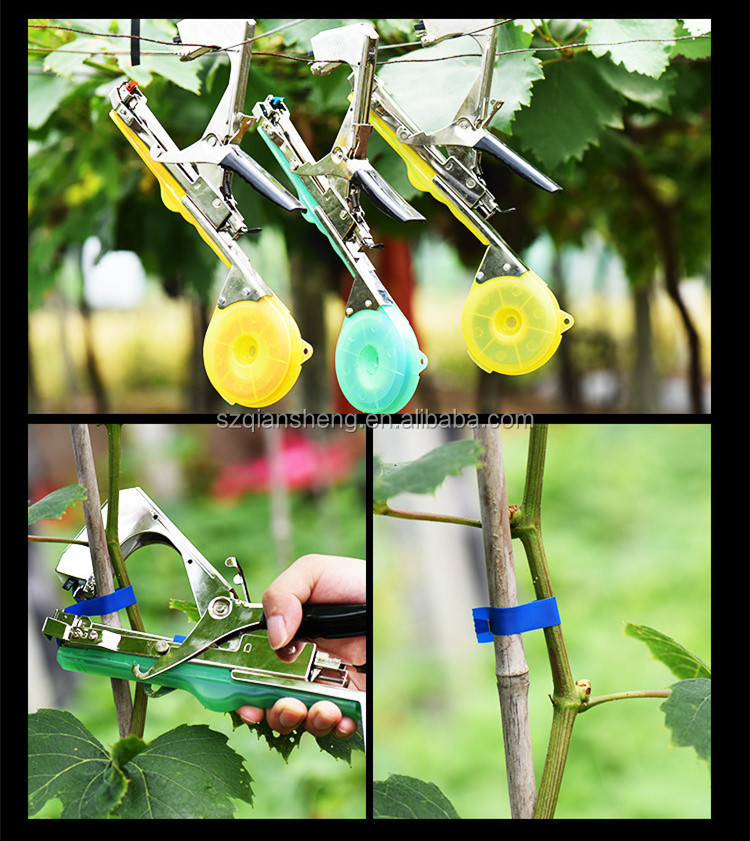 Tying Machine Plant Garden Plant Bundle Tapetool Tapener Used For Vegetables,Grapes,Tomatoes, Cucumbers