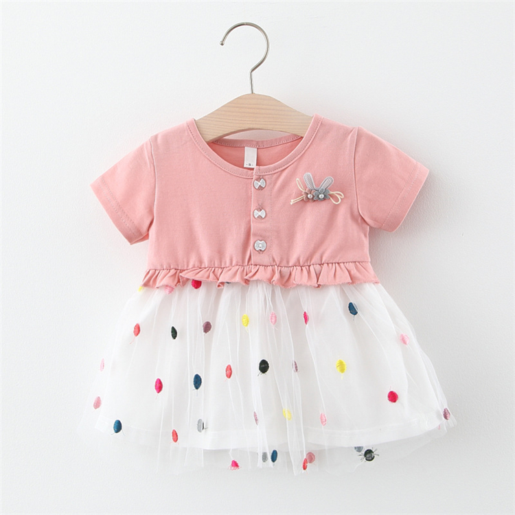 Guangzhou factory manufacturer kids clothes baby girl dress