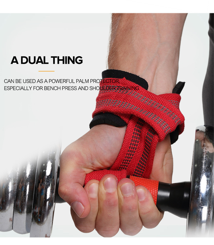 Sports fitness elastic wrist protection support weight lifting straps wrist wraps