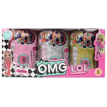 Оригинальная серия LOL Surprise 5 Hairgoals lol Домашние животные пластиковая кукла Сделай Сам Игрушки для девочек Подарки на день рождения(Китай)