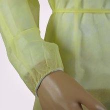 Chine Fournisseur Sans Latex D'habillement D'isolement Uniforme D'hôpital Non Tissé Fabricant de Robe D'isolement