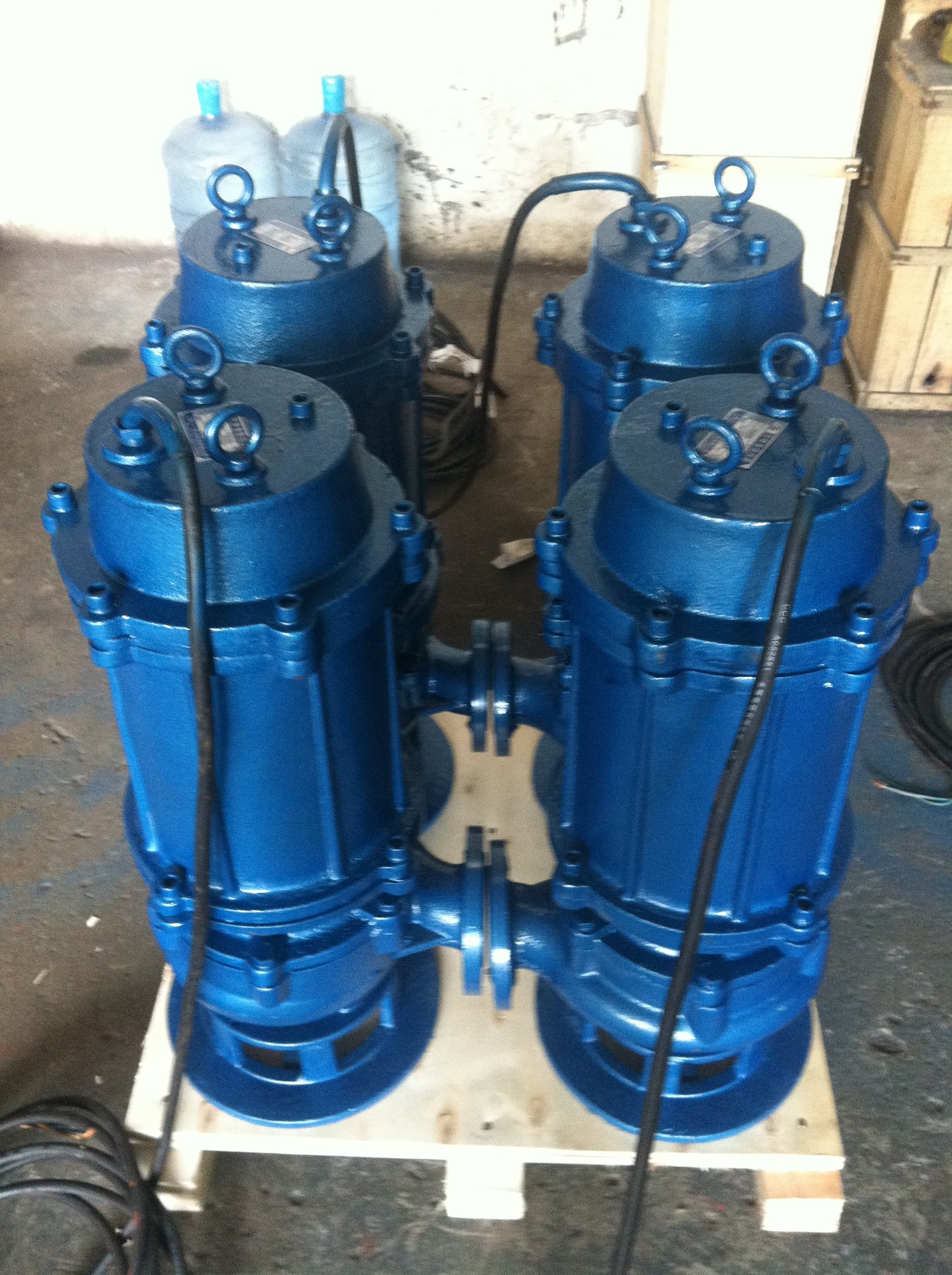 High Efficiency WQ/QW Submersible Sewage Water Suction Pump