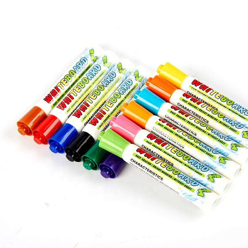 Amazon Best Selling School Office Home Low Odor Chisel Tip Dry Erase Markers Whiteboard Pens - Yola WhiteBoard | szyola.net
