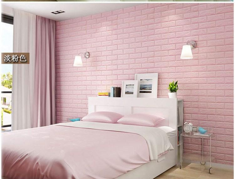 foam wall panels wholesale white Self Adhesive Covering 3d foam wallpaper foam wall sticker For Kids Room
