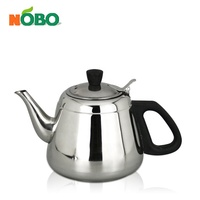Korea design hot selling wholesale water pot stainless steel tea kettle with infuser
