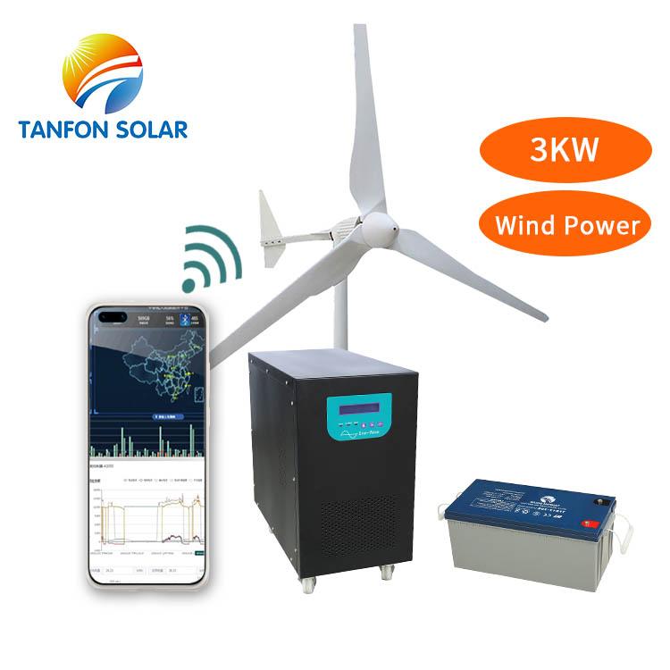 Generator windenergieanlage 2kw 3kw 5kw/horizontale achse windkraftanlagen 5kw/3kw windgenerator 96v
