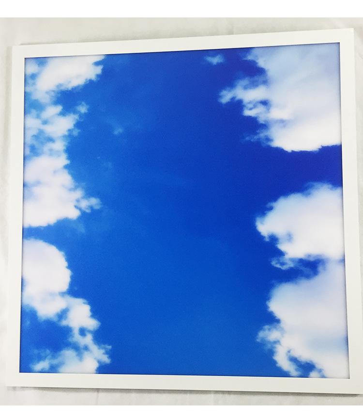웨스트 사슴 하늘 패널 빛 1X1 1X4 2X2 2X4 4X4 흰 구름 LED 광장 패널 빛
