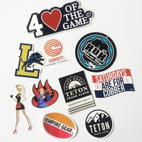 Good quality custom die cut logo label vinyl sticker printing