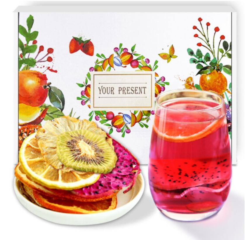 2020 new fashion flavor tea big Slices fruits blended tea oem packages - 4uTea | 4uTea.com