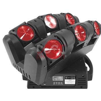 Moving Head spider lights LED 6x12W RGBW Moving Head Show Light Disco KTV DJ Club Show Bar Led Stage Lighting / sweeper beam led