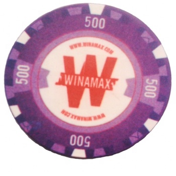 300 pcs poker chips set