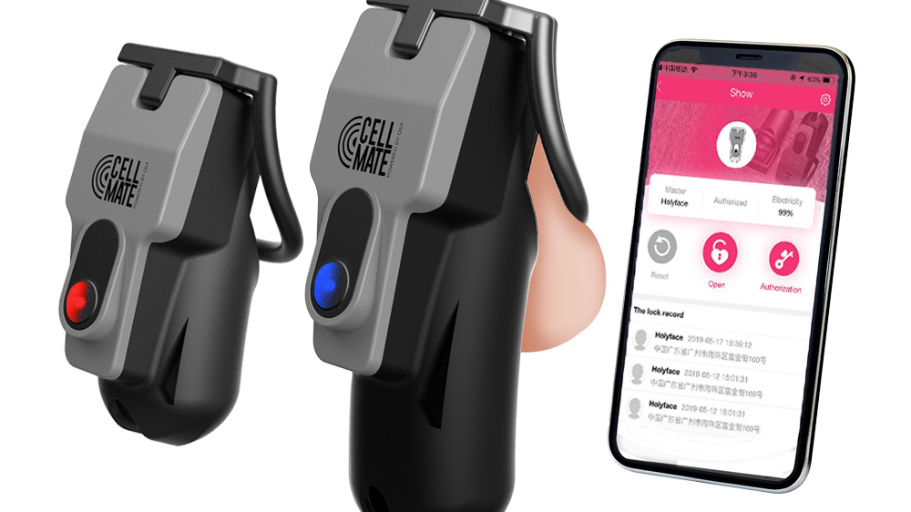 Qiui Cellmate Keyless App Controlled Male Chastity Device Metal Penis Ring Remote Control Chastity Cock Cage Sex Toys For Men - Buy Chastity Cage,Chastity Device,Cock Cage Product on Alibaba.com