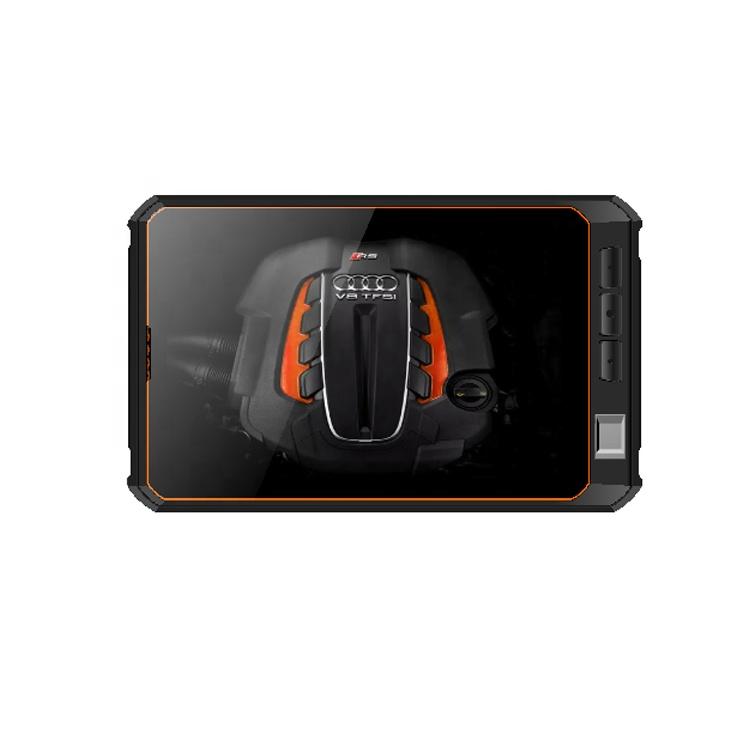 High Performance Intel Z8350 CPU Wifi 4G LTE RJ45/S232/2D Scanner RFID NFC GPS IP68 Waterproof Window 10 Inch IPS Rugged Tablet