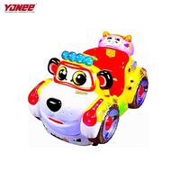Yonee Indoor games arcade animal electric kiddie rides kids coin pusher game machine for kids