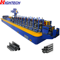 ZG28 Iron Pipe Making Machine Carbon Steel Pipe Mill Square Pipe Production Line