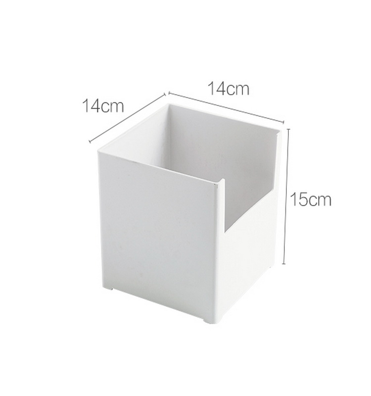 DIY Kitchen Cabinet Plastic Organizer Storage Box bins