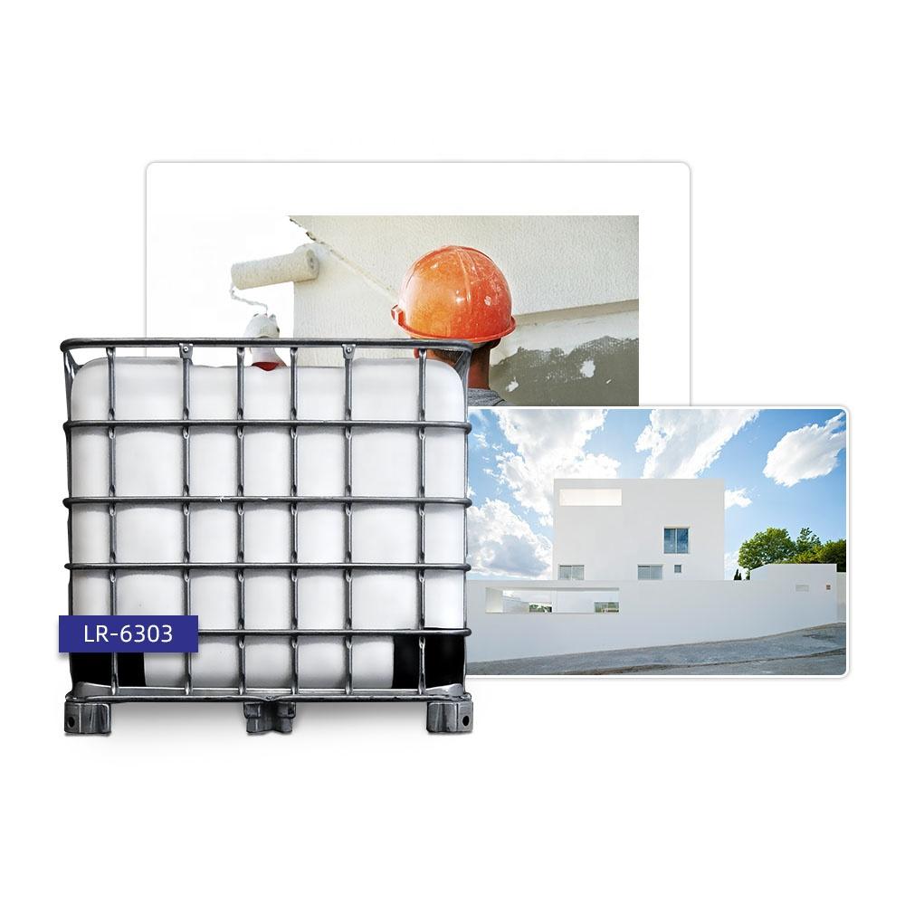 LR-6303 transparente Acryl Emulsion Beschichtung Klebstoff Emulsion Primer Coat