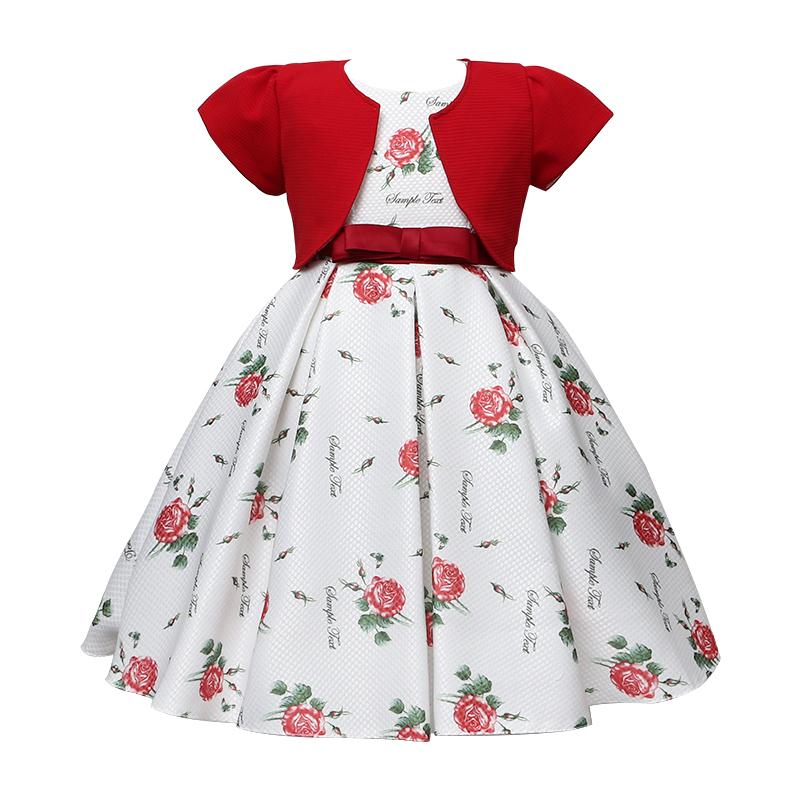 2020 Sleeveless Child Kid Wear Clothing Girl Party Dress Design
