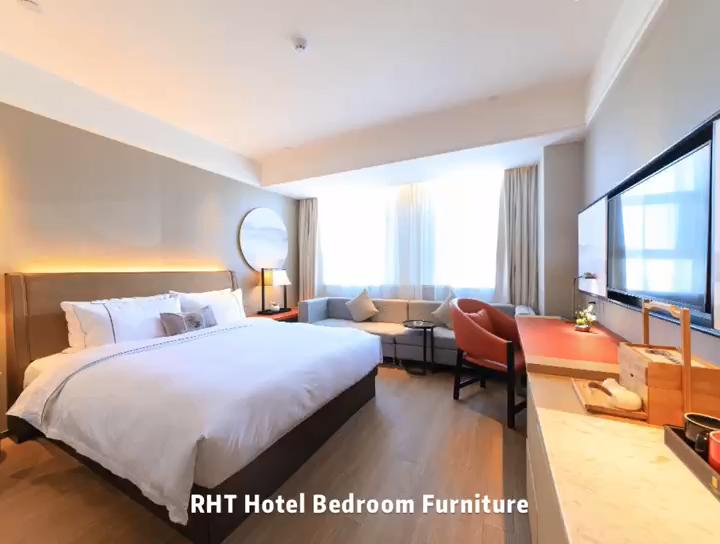 ขายร้อน! Ronghetai 5 ดาวโรงแรมเฟอร์นิเจอร์มาตรฐานเฟอร์นิเจอร์ TF1004-2