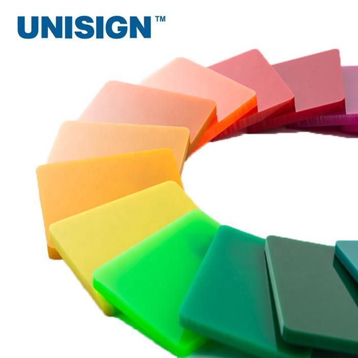Murni Ketebalan Yang Berbeda PMMA Transparan Perspex Extruded Clear Cast Acrylic Sheet
